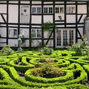 Den barok-inspirerede have bag Strandgade 28-30