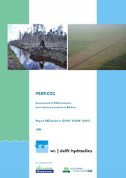 Aljosja Hooijer et al.: Peat-CO2. Assessment of CO2 emissions from drained peatlands in SE Asia, Delft Hydraulics report 2006.