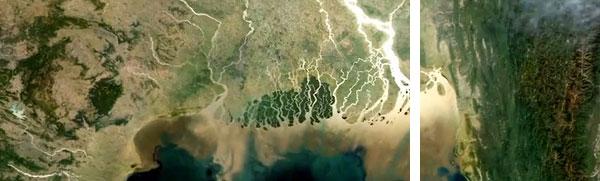 den fortsatte eksistens for det fælles deltaområde for Ganges og Brahmaputra er i høj grad afhængig af udfaldet af klimaforhandlingerne