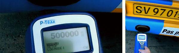 Partikeltælleren måler mængden af ultrafine partikler på mellem 1 og 0,02 mikrometer i diameter