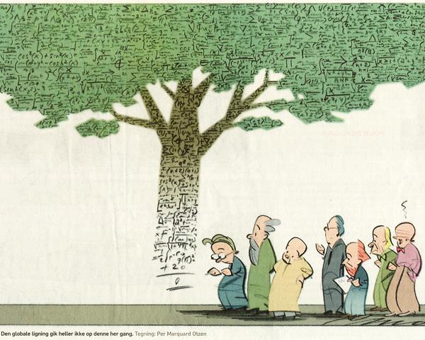 tegning fra Politiken 26.06.2012