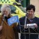 Skt. Hans Torv - tale ved konsul Francisco Villeges fra Den Bolivianske Ambassade. Talen oversættes af Kirsten